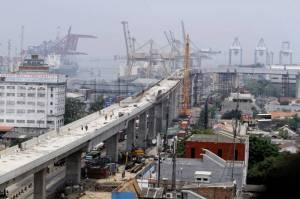 Proyek Pembangunan JalanTol Pelabuhan Tg Priok