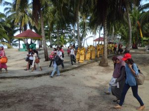 Sambutan Penduduk Pulau Benan