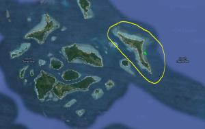 Spot snorkeling garus hijau