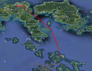 Jalur kapal laut