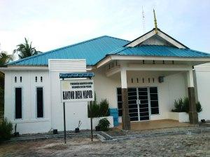 kantor desa Mapur